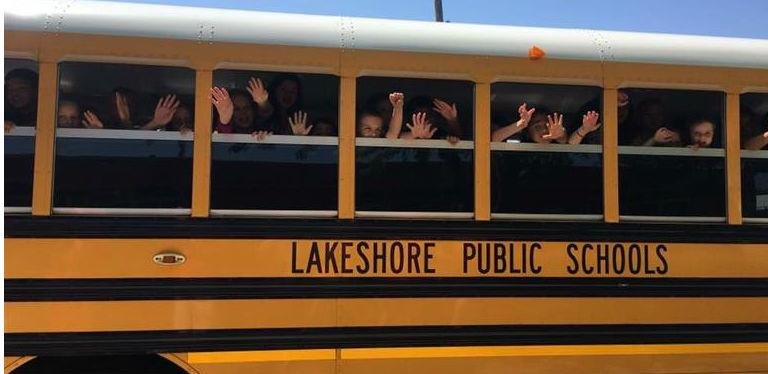 Image result for LAKESHORE school bus images